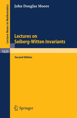 Large book cover: Lecture Notes on Seiberg-Witten Invariants