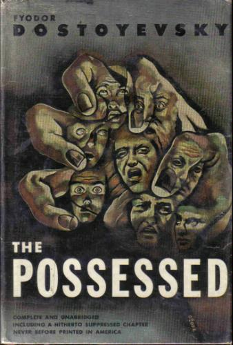 Large book cover: The Possessed