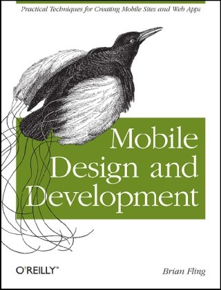 Large book cover: Mobile Design and Development