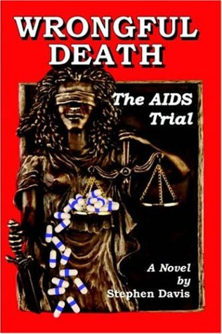 Large book cover: Wrongful Death: The AIDS Trial