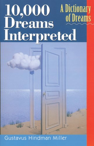Large book cover: 10,000 Dreams Interpreted