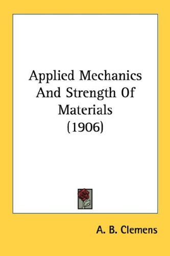 Large book cover: Applied Mechanics and Strength of Materials