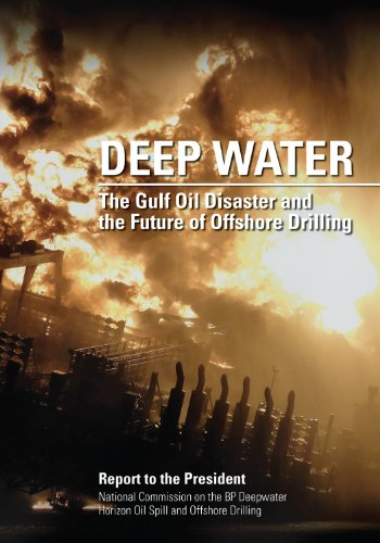 Large book cover: Deep Water: The Gulf Oil Disaster and the Future of Offshore Drilling