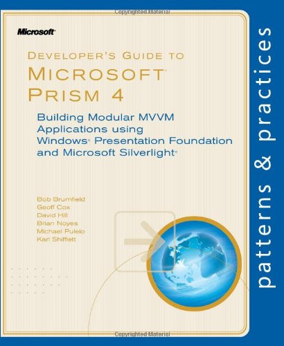 Large book cover: Developer's Guide to Microsoft Prism