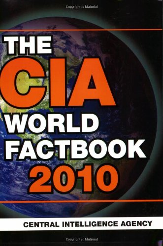Large book cover: The 2010 CIA World Factbook