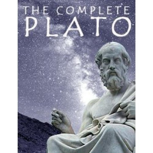 Large book cover: The Complete Plato