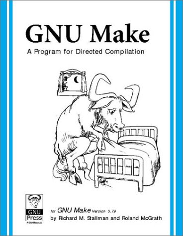 Large book cover: GNU Make: A Program for Directed Compilation