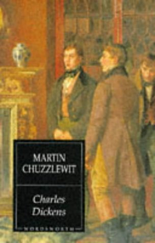 Large book cover: Martin Chuzzlewit