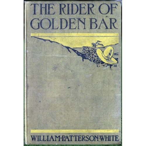 Large book cover: The Rider of Golden Bar