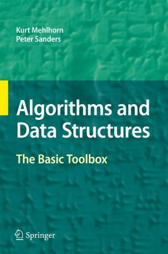 Large book cover: Algorithms and Data Structures: The Basic Toolbox