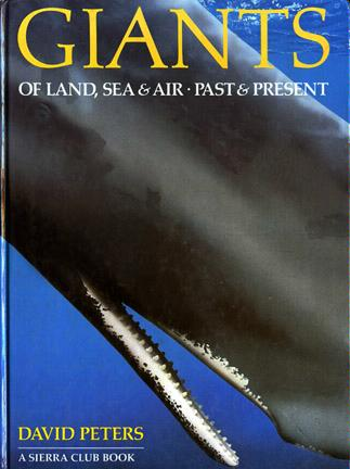 Large book cover: Giants of Land, Sea and Air, Past and Present