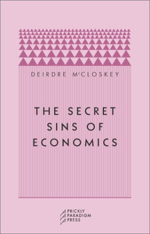 Large book cover: The Secret Sins of Economics
