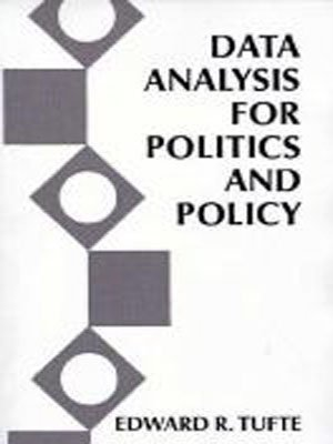 Large book cover: Data Analysis for Politics and Policy