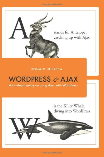 Large book cover: WordPress and Ajax