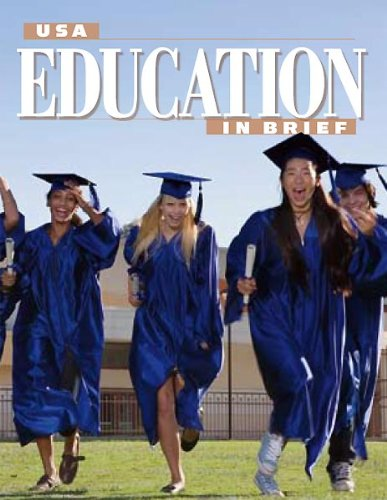 Large book cover: USA Education In Brief