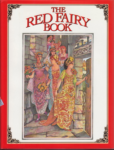 Large book cover: The Red Fairy Book