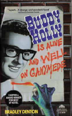 Large book cover: Buddy Holly is Alive and Well on Ganymede