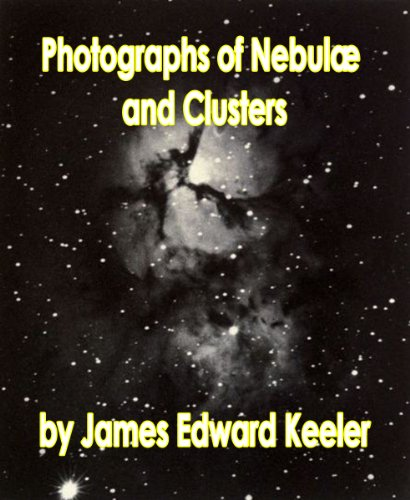 Large book cover: Photographs of Nebulae and Clusters