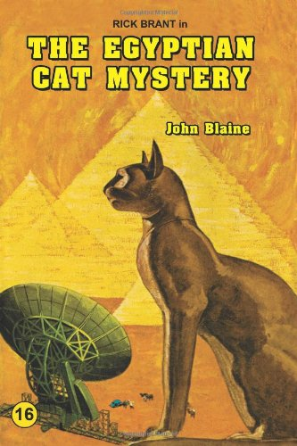 Large book cover: The Egyptian Cat Mystery