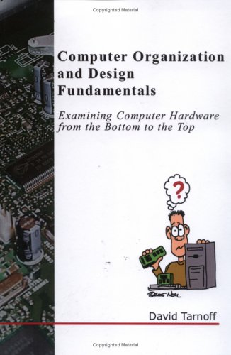 Large book cover: Computer Organization and Design Fundamentals