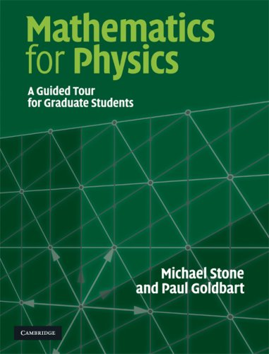 Large book cover: Mathematics for Physics: A Guided Tour for Graduate Students