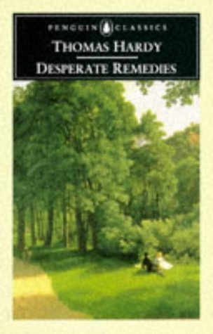Large book cover: Desperate Remedies