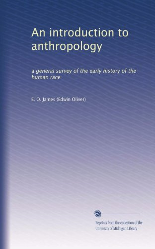 Large book cover: An Introduction to Anthropology