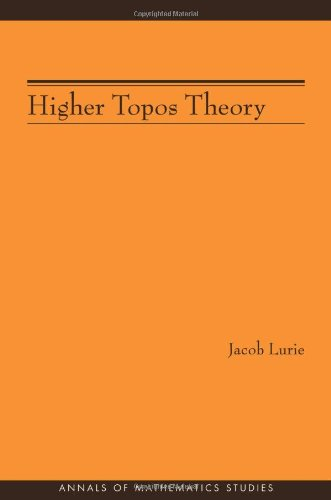 Large book cover: Higher Topos Theory
