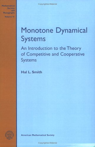 Large book cover: Monotone Dynamical Systems