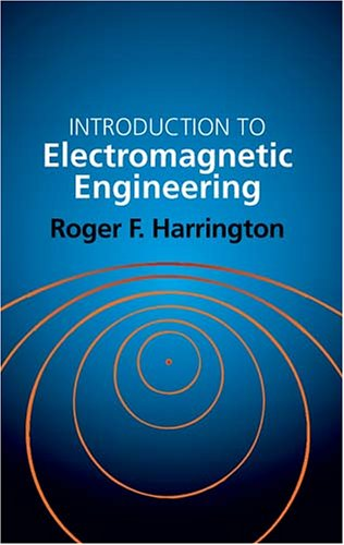 Large book cover: Introduction to Electromagnetic Engineering