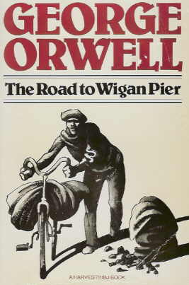 Large book cover: The Road to Wigan Pier