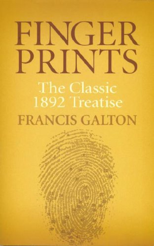 Large book cover: Finger Prints