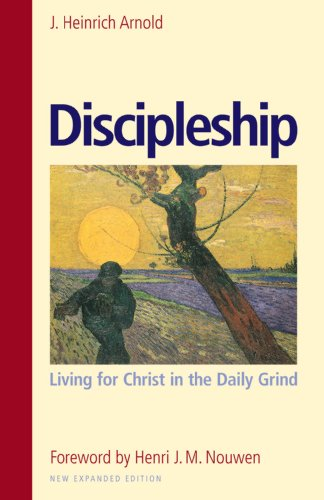 Large book cover: Discipleship: Living for Christ in the Daily Grind
