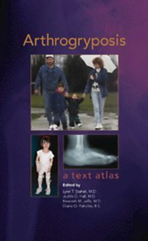 Large book cover: Arthrogryposis: A Text Atlas