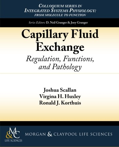 Large book cover: Capillary Fluid Exchange: Regulation, Functions, and Pathology