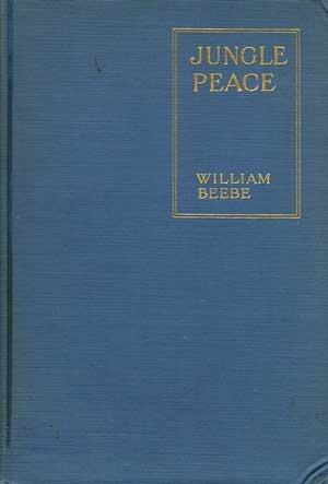 Large book cover: Jungle Peace