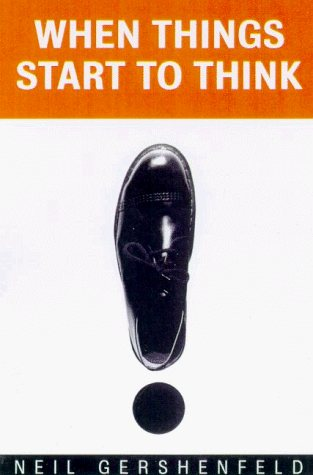 Large book cover: When Things Start to Think