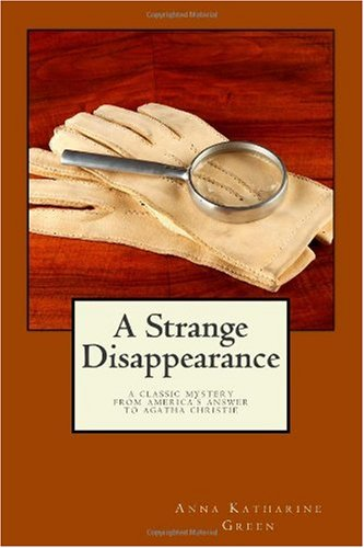 Large book cover: A Strange Disappearance