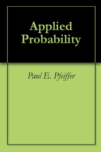 Large book cover: Applied Probability