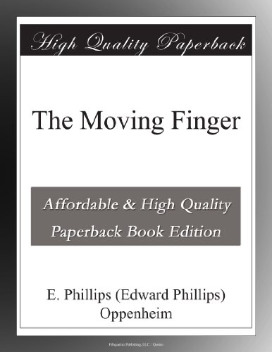 Large book cover: The Moving Finger