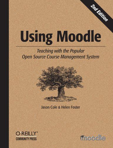 Large book cover: Using Moodle: Teaching with the Popular Open Source Course Management System