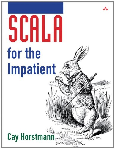 Large book cover: Scala for the Impatient
