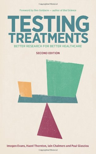 Large book cover: Testing Treatments: Better Research for Better Healthcare