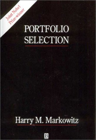 Large book cover: Portfolio Selection: Efficient Diversification of Investments