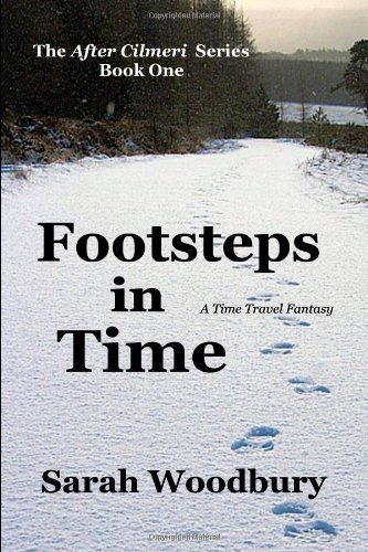 Large book cover: Footsteps in Time