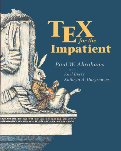 Large book cover: TeX for the Impatient