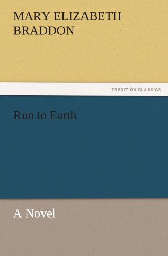 Large book cover: Run to Earth