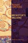 Large book cover: Brewster's Millions