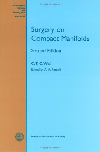 Large book cover: Surgery on Compact Manifolds