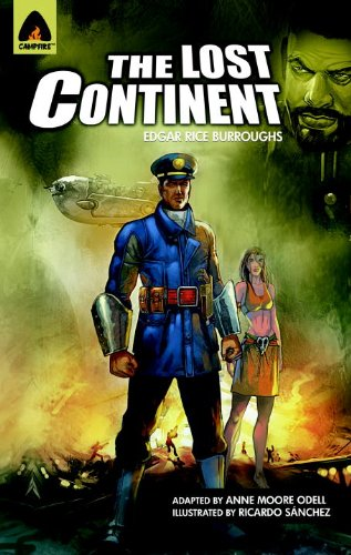 Large book cover: The Lost Continent
